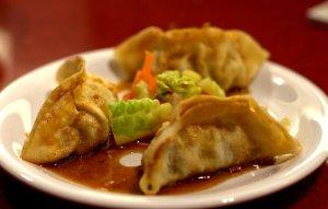 Pork dumplings